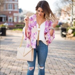 {anthro} erfurt sefrina floral kimono